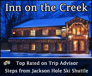 Inn on the Creek - Top Rated on TripAdvisor : Nestled on Flat Creek, yet steps from Jackson Town Square and the Ski Shuttle, the Inn is renowned for its picturesque setting, impeccable service and affordable luxury.
