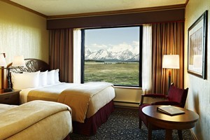 Jackson Lake Lodge - In Grand Teton National Park :: Full-service lodge with restaurants, shopping, outdoor pool, horseback riding, scenic river trips, and unmatched Teton views.