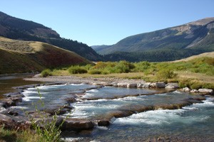 Red Rock Ranch - Fall Fishing Paradise! :: Mid Sept - October- Two private cabins, fully furnished kitchens, 2 1/2 miles of private Crystal Creek and miles of hiking trails just outside of Jackson Hole. Book today!