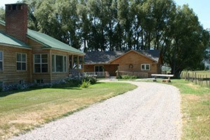 Hansen Guest Ranch - Swan Valley, ID :: Cozy B&B guest ranch with cabin accommodations in beautiful Swan Valley, ID. Just 43 miles southwest of Jackson Hole & perfect for weekend getaways, groups, couples, fishing.