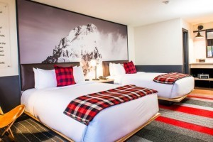 """Mountain Modern Motel - Brand New in Heart of Town :: Designed to be the perfect home base for year-round mountain adventures. The rugged & whimsical design of this """"basecamp"""" along with fun extras makes it a true gem."""