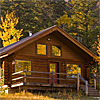 Trail Creek Ranch - Log Cabins and Private Rooms - Enjoy 270 acres of mountain paradise 7 min's from downtown Jackson. Heated pool, kitchens, hiking, biking and wildflowers. Away from crowds, close to parks & dining.